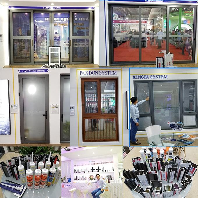 Giá cửa nhôm Xingfa chính hãng chi tiết nhất