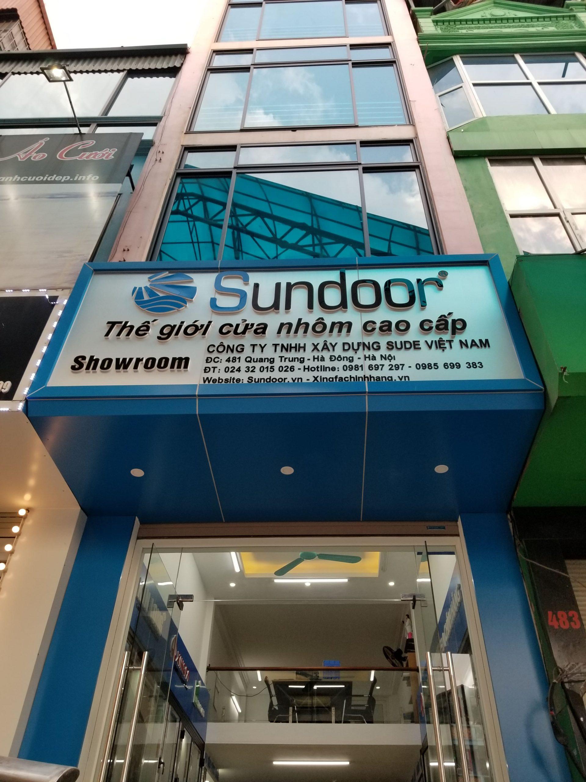 Showroom Sundoor