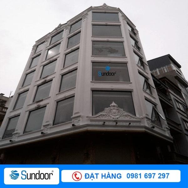 công trình Sundoor lắp đặt