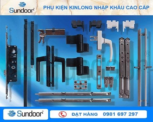 Các mẫu phụ kiện kinlong nhập khẩu đồng bộ