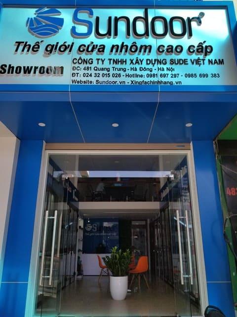 Sundoor cung cấp giải pháp vách kính mặt dựng cao cấp tại Hà Nội