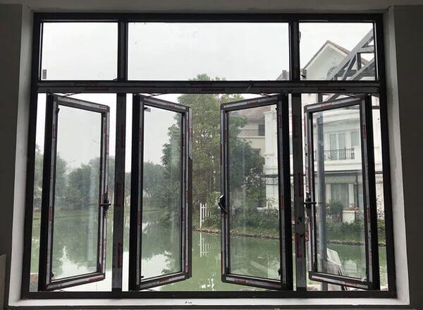 Cửa sổ 4 cánh nhôm Xingfa