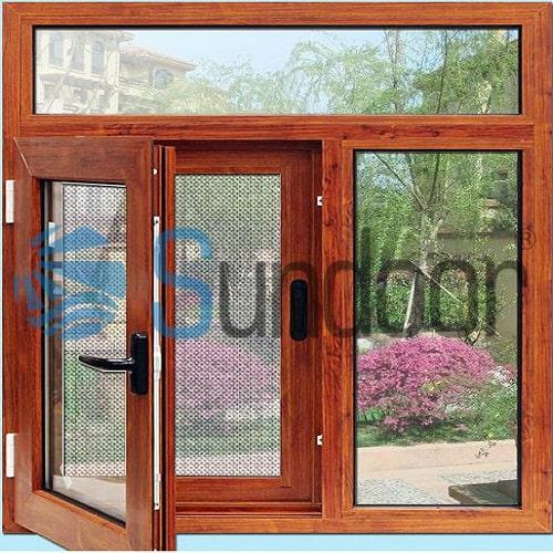 cửa sổ nhôm cầu cách nhiệt